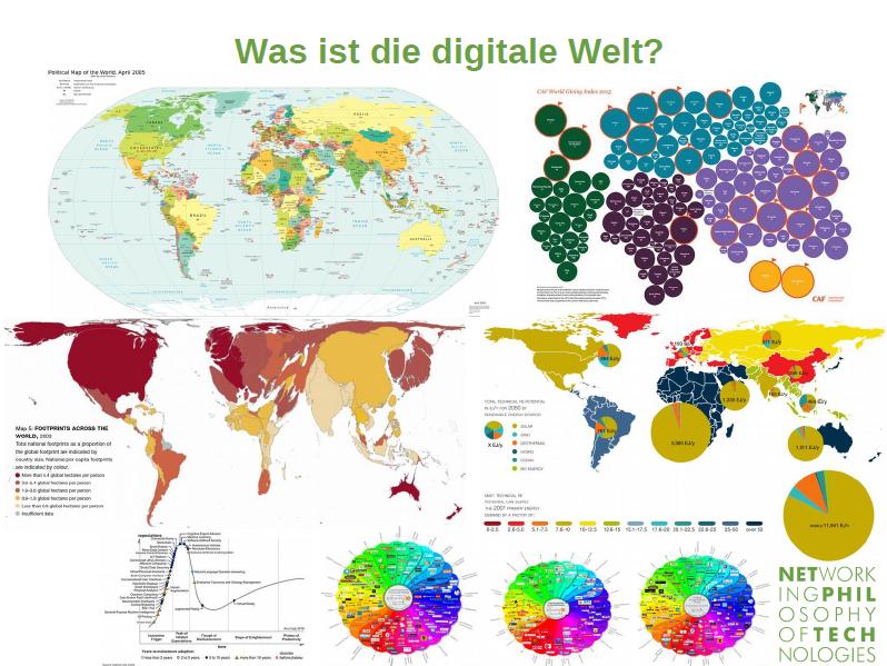 Informationstechnisch gestützte Weltbilder im Überblick.