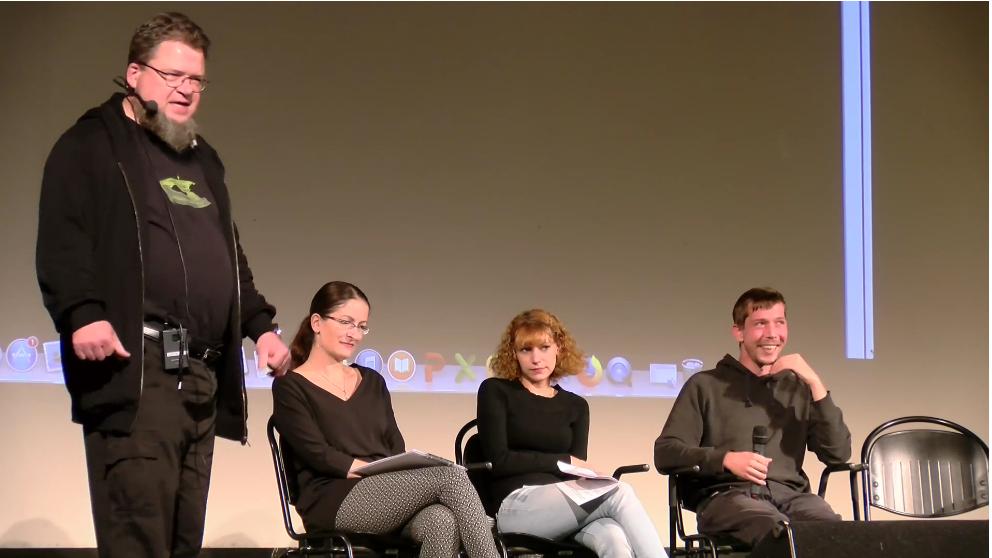 Videostill Netzphilosophische Matinee Datenspuren 2018
